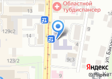 Компания «Центр гигиены и эпидемиологии в Томской области» на карте