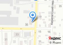 Компания «Динас-авто» на карте