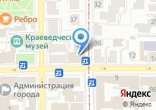 Компания «Военный комиссариат Томской области» на карте