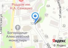 Компания «Часовня Святого Феодора Томского» на карте