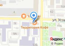 Компания «Аптека на Усова» на карте