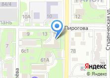 Компания «Томская таможня» на карте