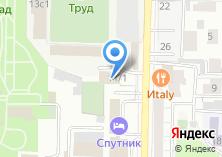Компания «Томская областная федерация футбола» на карте