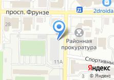 Компания «Строящееся административное здание по ул. Белинского» на карте