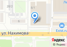 Компания «МеталлСервис» на карте