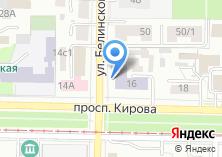 Компания «Сибирские блины» на карте