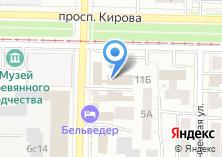 Компания «Шизгара» на карте