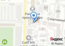 Компания «Полюс» на карте
