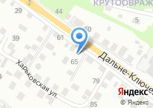 Компания «Строящийся жилой дом по ул. Дальне-Ключевская» на карте