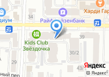 Компания «Достижение» на карте