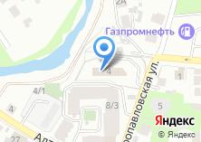 Компания «Федюшкинское» на карте