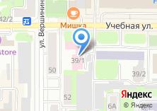 Компания «Торговый дом строительных материалов» на карте