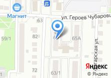 Компания «Участковый пункт полиции Отдел полиции №2 Ленинский» на карте