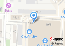 Компания «Мион» на карте
