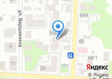 Компания «Астория» на карте