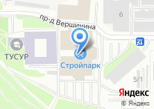 Компания «Стройпарк» на карте