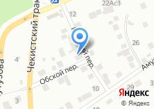 Компания «Торем» на карте