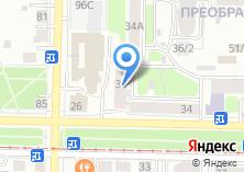 Компания «Мое белье» на карте
