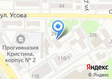 Компания «Участковый пункт полиции Отдел полиции №1 Кировский» на карте
