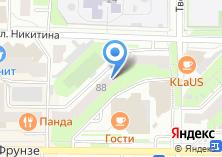 Компания «Декор штор салон штор» на карте