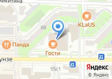 Компания «Томскпромстройбанк» на карте