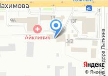 Компания «Томск-Стирол» на карте