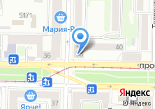 Компания «585» на карте
