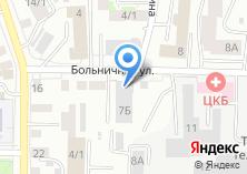 Компания «АВТО 70» на карте