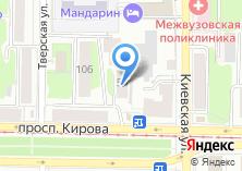 Компания «Контракт» на карте
