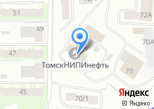 Компания «ТомскНИПИнефть» на карте