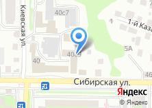 Компания «OK100.ru» на карте