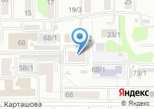 Компания «Строящееся административное здание по ул. Енисейская» на карте