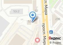 Компания «Томскнефтегазпереработка» на карте