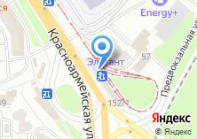 Компания «Цветы25.рф» на карте