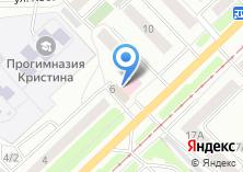 Компания «Томскэлектросетьпроект» на карте