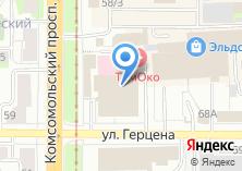 Компания «Орматек-Сибирь сеть салонов мебели» на карте