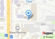 Компания «АВИКС» на карте