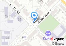 Компания «Продуктовый магазин на Косарева» на карте