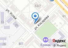Компания «ДОМ70» на карте
