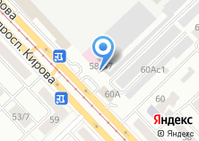 Компания «Себа» на карте