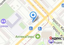 Компания «Viva-мебель» на карте