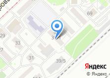 Компания «Хостони» на карте