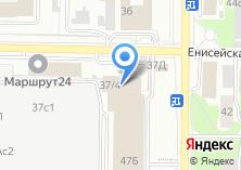 Компания «Вертекс» на карте