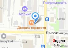 Компания «Зырянский» на карте