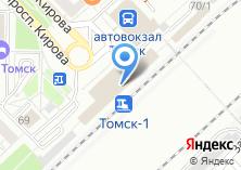 Компания «Томск-1» на карте