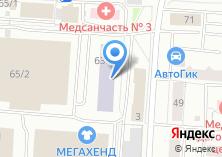 Компания «Томск-Тур» на карте