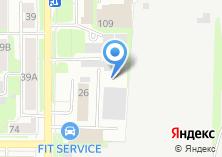 Компания «Томск» на карте