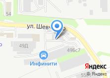 Компания «АвтоВеды» на карте