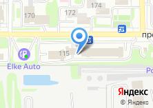Компания «Атлант» на карте