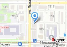 Компания «Городское архитектурно-планировочное бюро» на карте